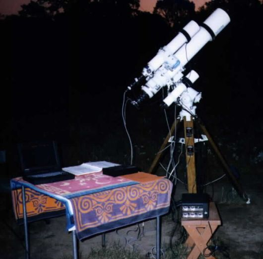 Refractor and Guidescope